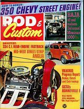 Rod & Custom Magazine January 1969 Volksrod Report EX No ML 041217nonjhe