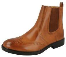 Scarpe da uomo stivali alla caviglia , chelsea marrone cerniera