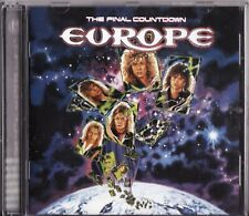 EUROPE THE FINAL COUNTDOWN GREATEST HITS CD NEW JOEY TEMPEST METAL MASTERS