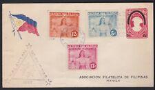 WWII 1943 Philippine Islands Philatelic Association Cover KALAYAAN NANG FDC