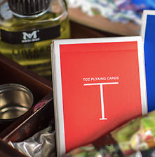 Classic T (Red) Playing Cards ships from Murphy's Magic