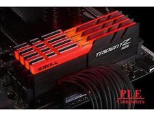 G.Skill 32GB (4x8GB) DDR4 Trident Z RGB 3000MHz[F4-3000C15Q-32GTZR]