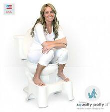 New Squatty Potty The Original Bathroom Toilet Stool White 9 Foot Free Shipping