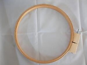 """14"""" Wooden Quilting Hoop by Siesta. Good quality, Lightweight but sturdy"""