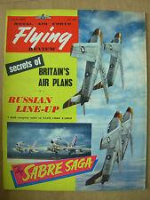 VINTAGE R.A.F. FLYING REVIEW MAGAZINE APRIL 1957 USAF SABRE