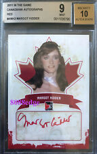 2011 IN THE GAME CANADIANA RUBY AUTO: MARGOT KIDDER 1/1 BGS 9 MINT AUTOGRAPH 10