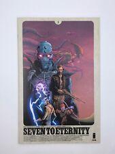Image Comics Seven To Eternity #1 1st Print VF/NM
