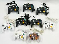 LOT of 9 Nintendo Gamecube Controllers Gamestop/Unbranded *TESTED*WORK*