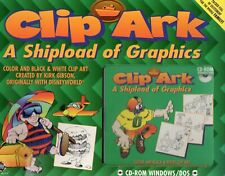 CLIP ARK - A SHIPLOAD OF GRAPHICS - by Kirk Gibson -NEW -CD-ROM Windows COMPLETE