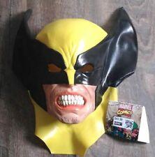 Adult Latex Wolverine Mask Halloween Cosplay X-men Marvel Comics Superhero