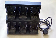 ENTEL Six-unit multi rapid charger for the HT series hand portable radio, CSBHT