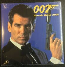 Classic JAMES BOND 007 Calendar 2001 - NEW SEALED - TeNeues