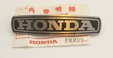 HONDA C90ZZ C90 CUB GENUINE NOS LEG SHIELD BADGE EMBLEM.
