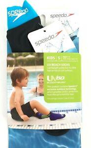 New SPEEDO Swim Beach Socks New Kids Lightweight UV Socks Age 1-2 Size 5-8 Small