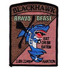 US Army 2nd Squadron 224th Aviation Attack Battalion BLACKHAWK BRAVO BEAST EAT