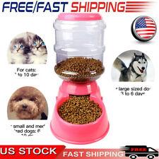 3.8L Automatic Pet Food Dispenser Dog Cat Feeder Dish Bowl Animal Feeding