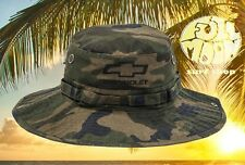 New Chevrolet Camo Chevy Bucket Fishing Sun Boonie Mens Cap Hat