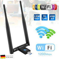 1200Mbps WiFi Adapter 2.4/5.8GHz Band WLAN Empfänger Stick Dongle USB 3.0 Dual