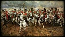 More details for the charge of the scots greys at waterloo 1815