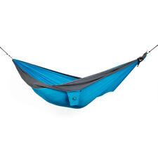 TTTM Parachute Hammock - Double Packable Hammock - Aqua/Grey