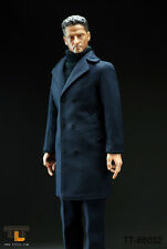 *Brand New* Ttl 1/6 Scale Male Figure Set with Navy Blue Long Coat *Us Seller*