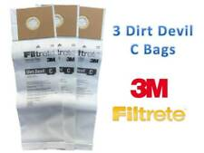 Dirt Devil Type C Deluxe Vacuum Bags (3 Pack), 3700148001 BRAND NEW!!!