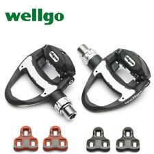 New Carbon Road Bicycle Clipless Pedals w/3 Bearing Look keo Self-locking Pedals