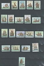 Mozambique Portugal Colonial | 1953 | Portuguese Ships | Complete Used Series