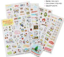 Petitcochonn Ver 2 Little Piggy Diary DIY Scrap-booking Stickers 6 Sheets