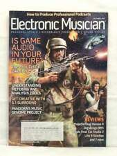 ELECTRONIC MUSICIAN MAGAZINE GAME AUDIO PANDORA 2007