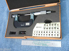 Thread Micrometer 1 2 Mitutoyo 126 138 Withanvils Ovr 850 When New Toolmaker