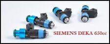 Honda Civic Acura RSX K20 K24 R18 Siemens Deka 650cc Fuel Injectors