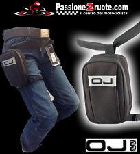 Oj M100 Mini Track Borsello Marsupio gamba moto scooter atv quad leg bag