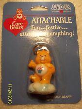 Care Bears Birthday Bear Attachables 53145 Vintage MOC 1985 SCARCE