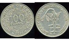 ETATS DE L'AFRIQUE DE L'OUEST  100 francs  1978
