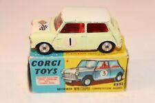 Corgi Toys 227 Mini Cooper Competition model excellent plus original condition