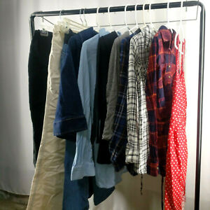 Maternity Pants Flannel Bloused T-shirts Jacket Dress  Lot of 11 items Size XS-S