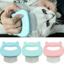 US Pets Cat Dog Massage Comb Grooming Hair Removal Shedding Cleaning Brush