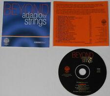G. Schirmer  Beyond Adagio For Strings  - 2000 U.S. promo cd