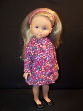 """Clothes for Corolle les Cheries,Paola Reina Doll Floral Coat Corduroy 13"""""""