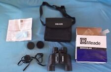 MEADE BINOCULARS 7-21X40 W/CARRY CASE, NECK STRAP, CLEANING CLOTH