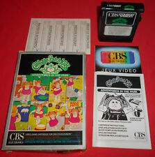 CBS Colecovision Cabbage Patch Kids [EUR] NO MSX Intellivision *JRF*