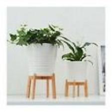 IKEA Nyskördad Blumenständer Holz Bambus