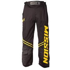 Mission Hockey Pants Inhaler DS:4 Sr 1044718 Black/Yellow 80% Poly 20% Nylon