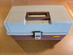 Vintage Plano 3 Tray Tackle Box USA