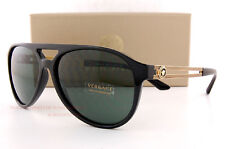 Brand New VERSACE Sunglasses VE 4312 GB1/71 BLACK/ GREY Men