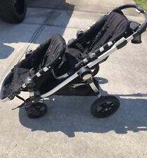 Baby Jogger City Select Twin Double Stroller w/ Second Seat Onyx