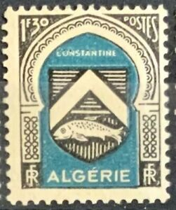 Algeria #YT257 Mint CV€1.75 1947 Constantine Coat of Arms [213]