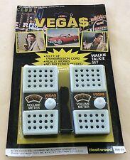1978 Fleetwood Toys Vega$ Vegas Walkie Talkie Set MOC