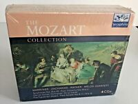 The Mozart Collection 4 CDs Marriner Zacharias Rayner Melos Quartett 4 CDs NEW